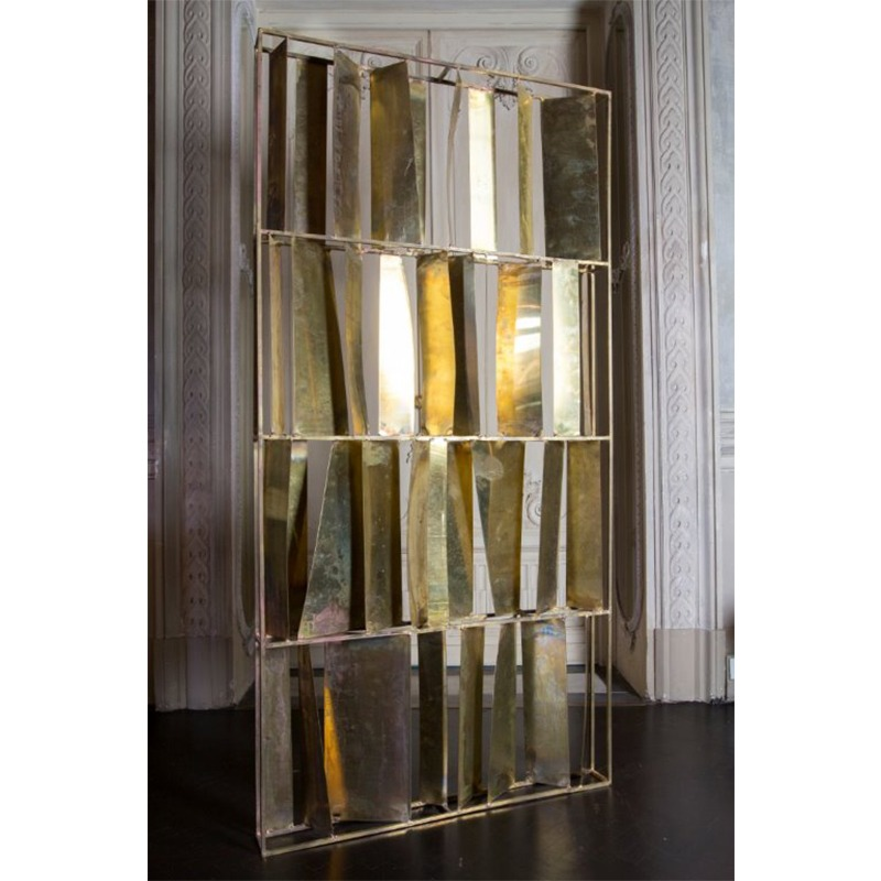 Screen Brut Natural Brass