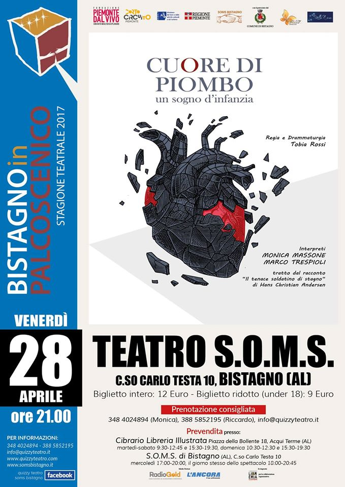Monica Massone, soms, bistagno in palcoscenico
