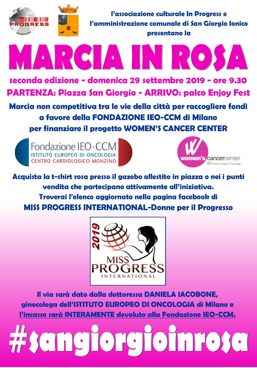 Miss Progress International-Donne per il Progresso, tutto pronto per la settima edizione