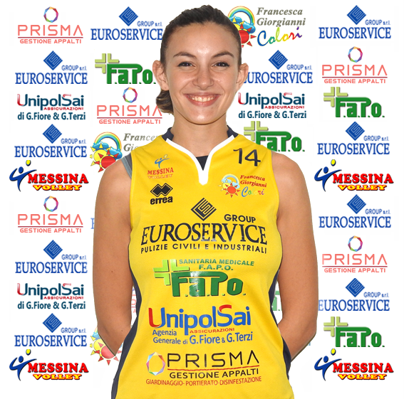 Il Messina Volley conferma l'opposto Francesca Cannizzaro