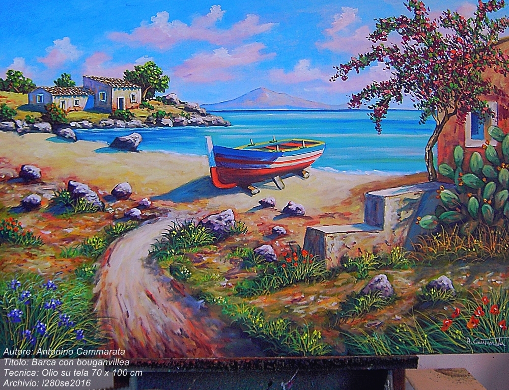 Beautiful Dipinti Di Paesaggi Marini Images - ubiquitousforeigner.us ...
