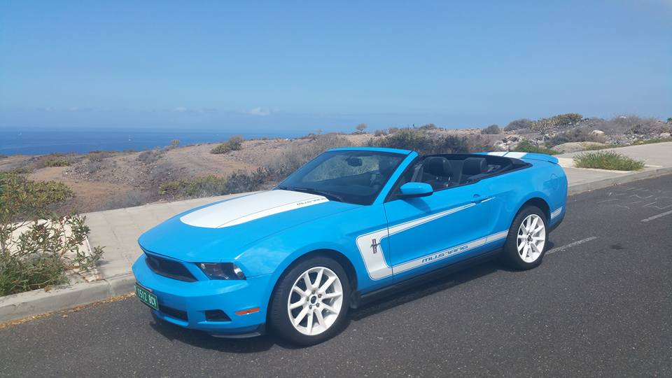 2010 FORD MUSTANG CABRIO V6 AUTO