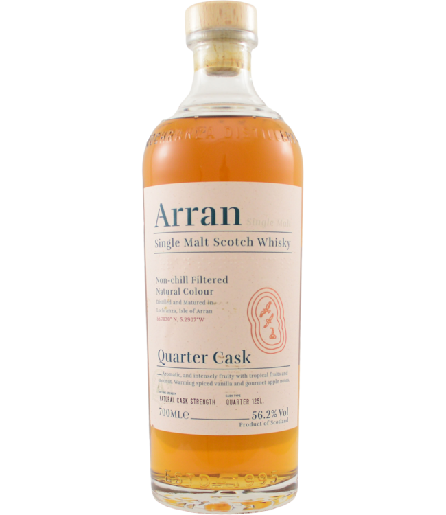 ARRAN QUARTER CASK 'THE BOTHY'