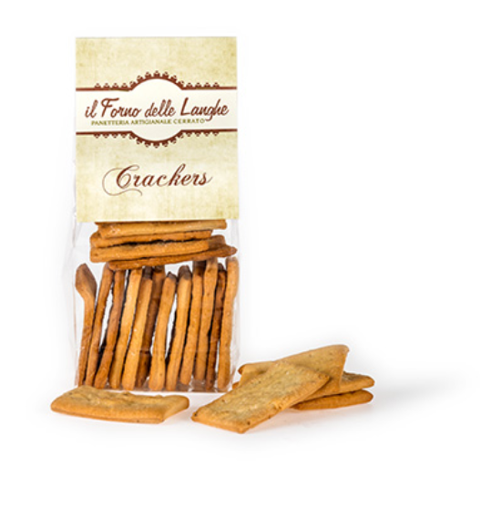 Cerrato Crackers salati al naturale.