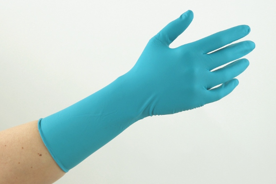 Chemo Examination Gloves - MANUAL X-NITRILE - Extra Protection Long Cuff No Sterile