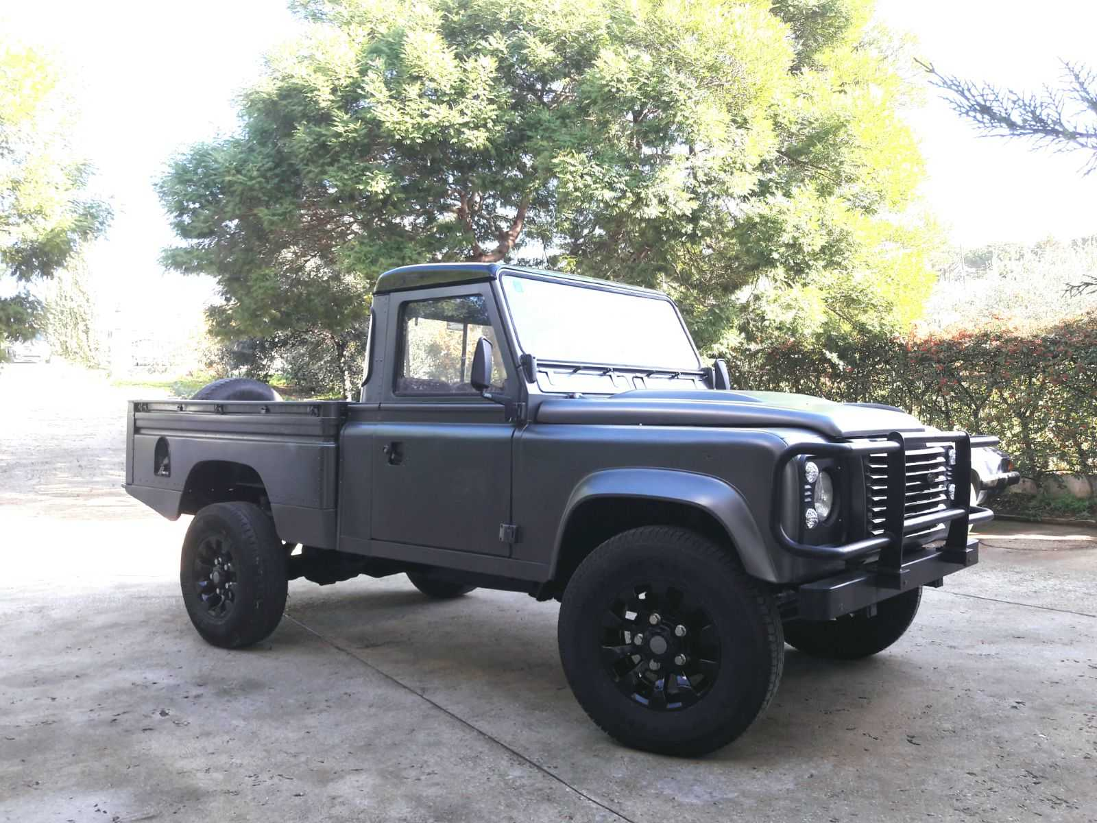 1985 LAND ROVER 110 PICK UP LHD