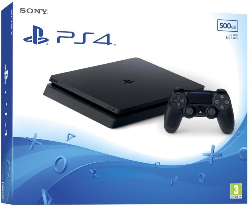 Ps4 500 gb black