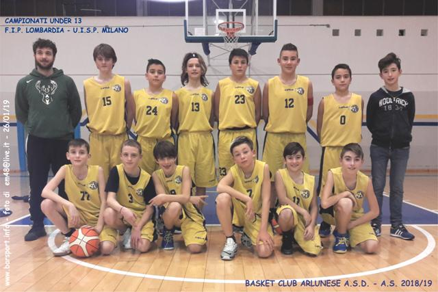 Uisp Basket Milano Calendario.Under 13 Fip Uisp