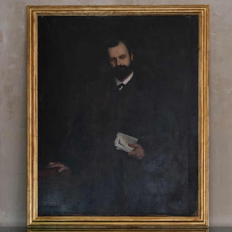 Late 19th Century French Gentleman Portrait
