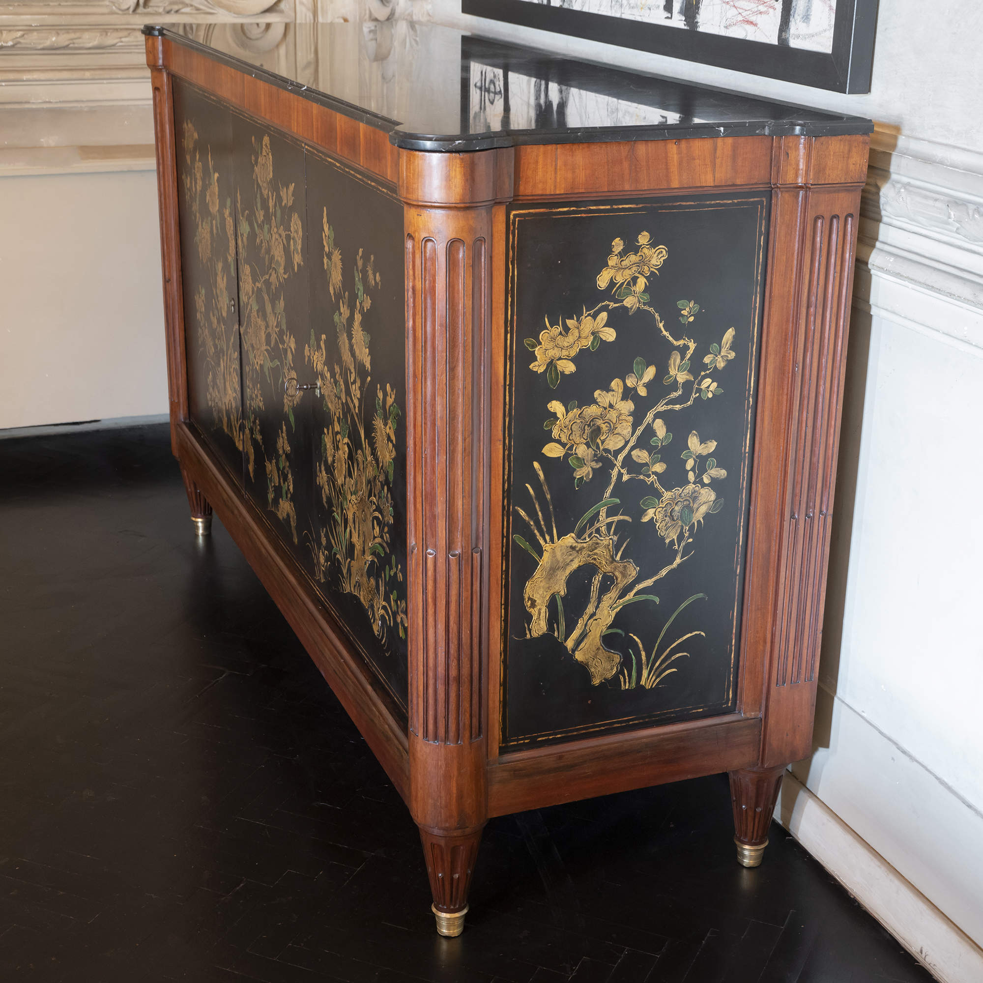 Late 18th Century Oak Italian Credenza