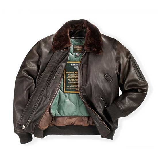 Leather b-15 Jacket
