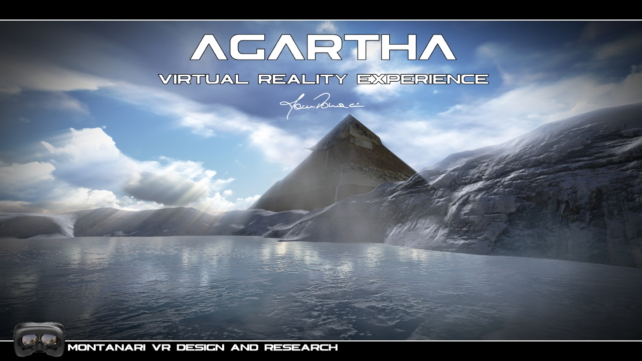 Agartha 3D VR - 6 DoF of  VR liberty