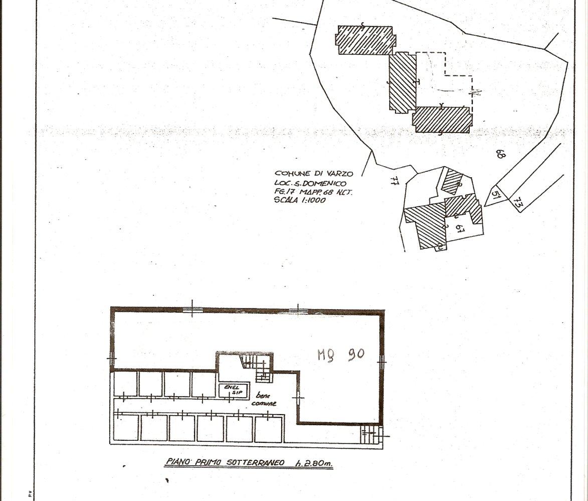 Affittasi magazzino in San Domenico Di Varzo di mq. 90 anche per brevi periodi