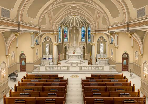 St. Joseph Church in Circleville, Ohio - USA