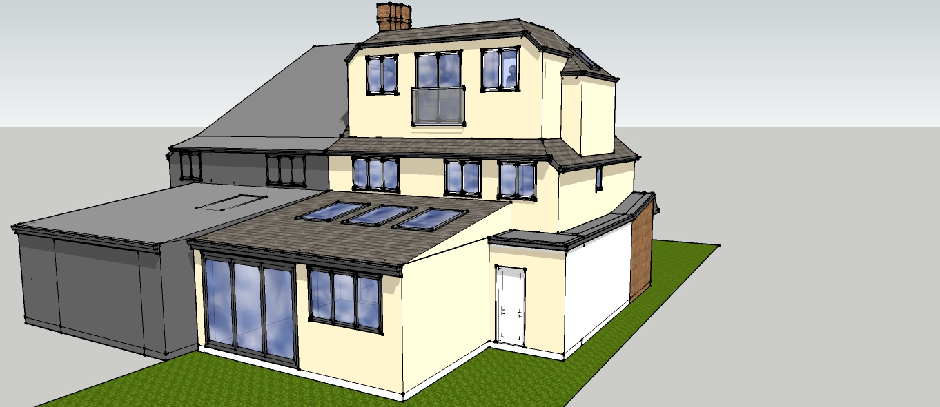 Permitted Development Application submitted for the Loft Conversion.