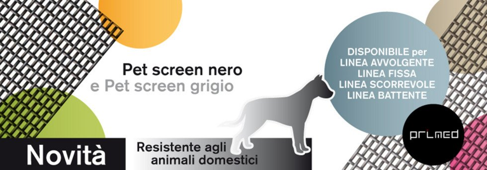 Telo pet screen zanzariere Arezzo