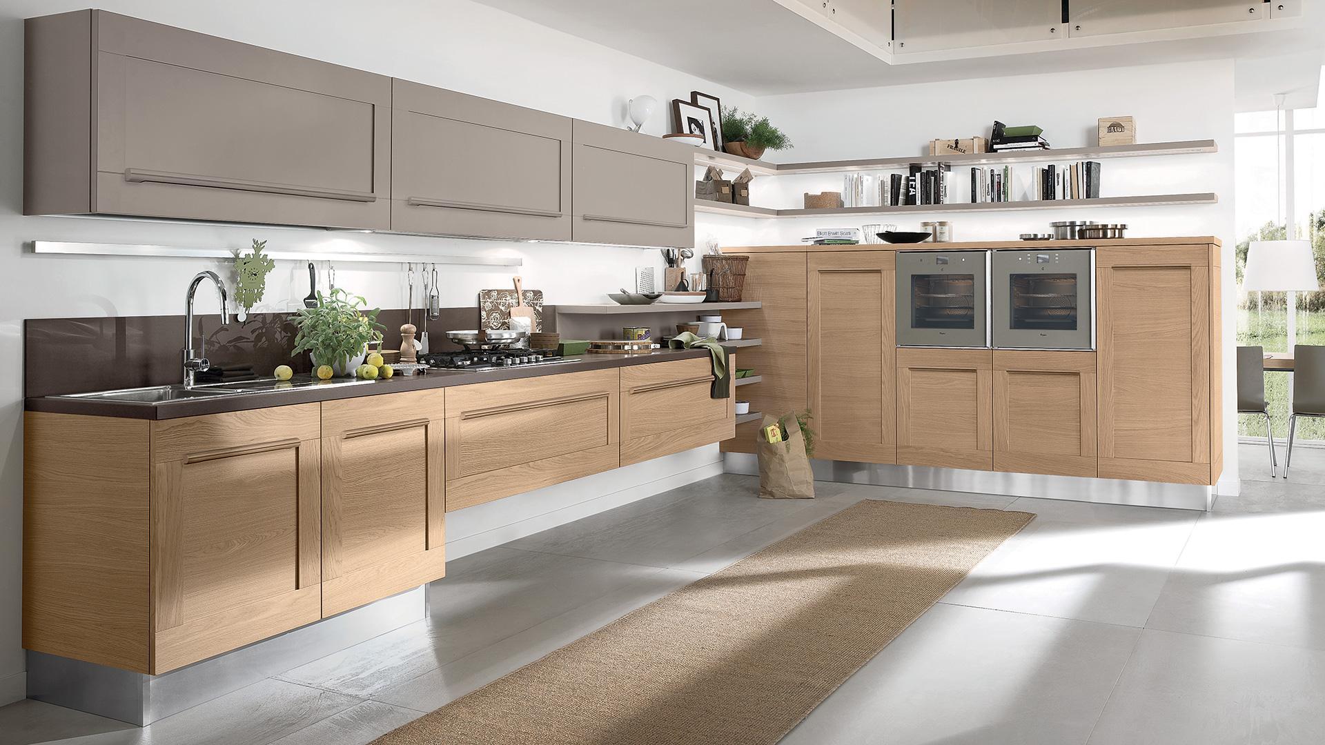 Cucine moderne for Maniglie cucina lube