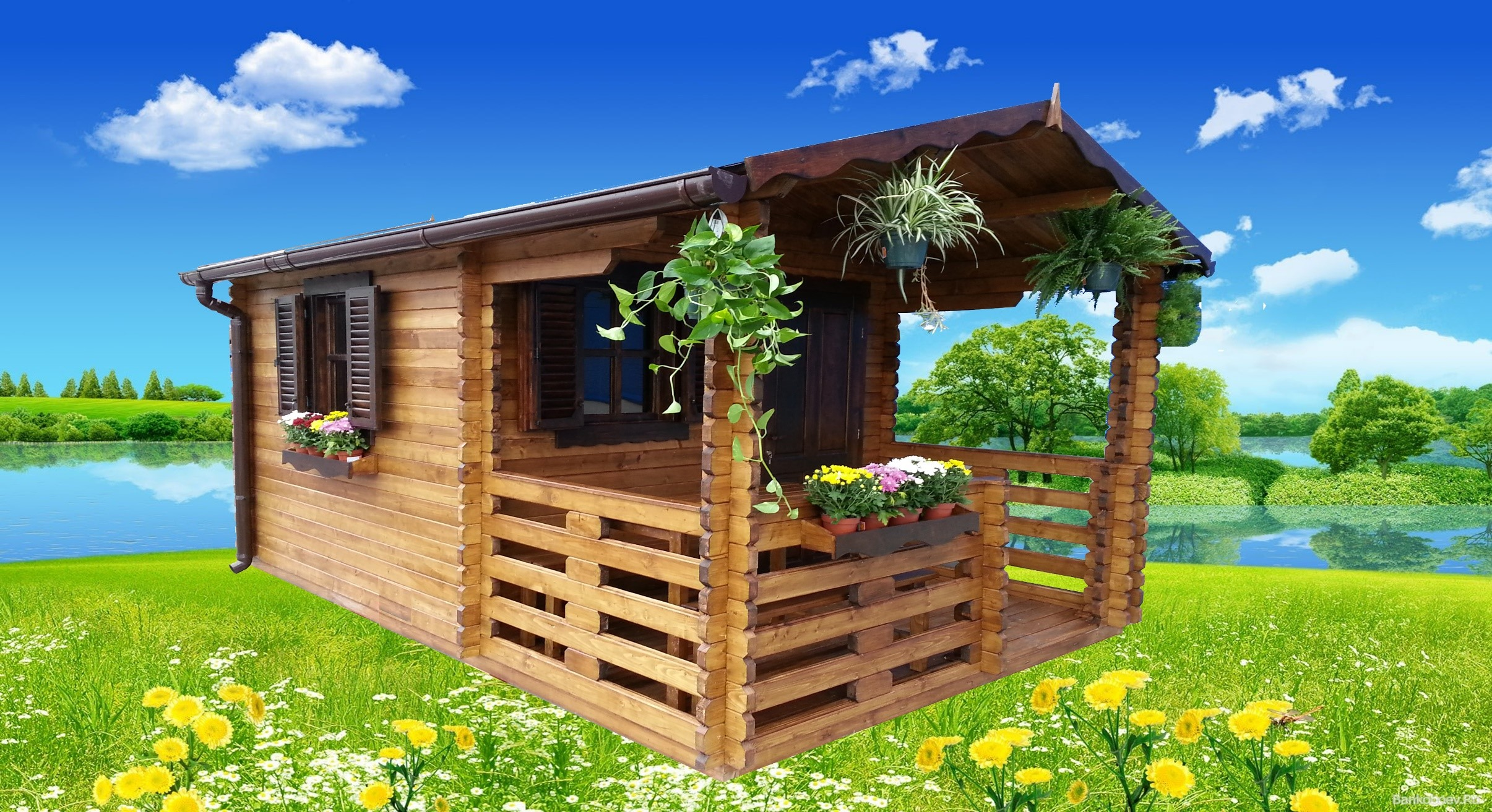 Ufficio In Legno Da Giardino : Casette da giardino