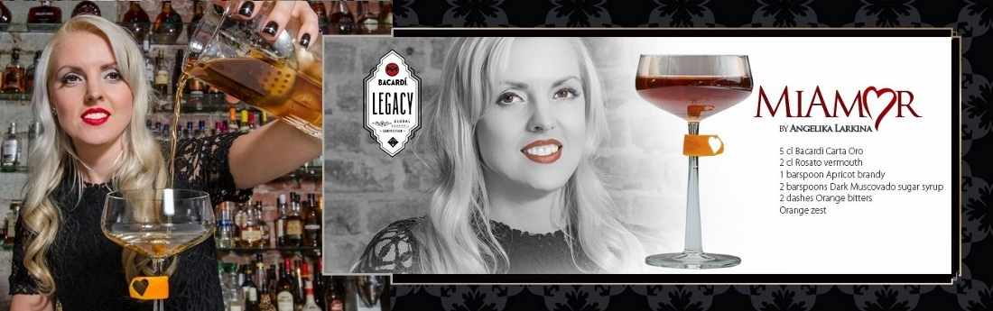 Explorer - Angelika Larkina in The Baltic Final of Bacardí Legacy Cocktail Competition 2016 - Warsaw