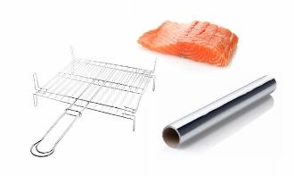 Spumarche - salmone - pic-nic - grigliata - foglio di alluminio - pesce al cartoccio
