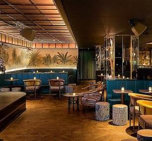 Spumarche - Mixologia - Oriole Bar - London - Edmund Weil - cocktail - food