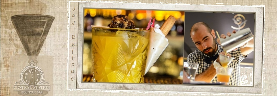 spumarche - mixologia - Cocktail Late Breakfast  - Jad Ballout - Cental Station Boutique Bar - Beirut