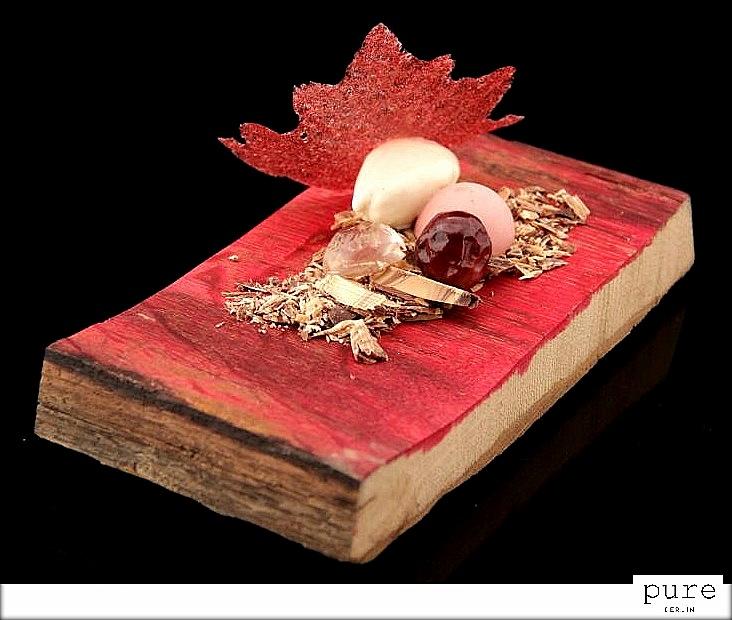 Spumarche_Crocevia di Sapori_Sorbetto al profumo di barile di legno - Wood barrel sherbet - © Miles Watson pure-berlin