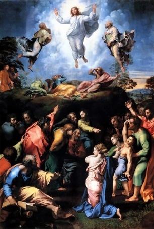 Spumarche - Explorer - Transzfiguráció - Raffaello Sanzio - Musei Vaticani