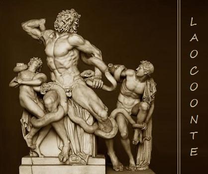 Spumarche - Explorer - Vatikáni Múzeumok - Laokoón és fiai  a Nyolcszögletű udvarban - Róma