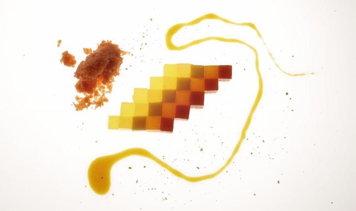 Spumarche - Crocevia di Sapori -- Cromatismo de Naranja *** Michelin Guide - chef Jordi Roca - celler de can roca