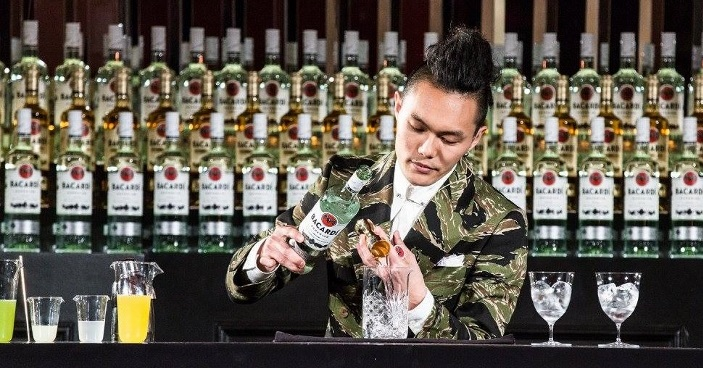 Spumarche - Mixologia - Gn Chan - Angel's Share - New York – NYC – lounge bar - Bacardí Legacy Cocktail Competition -