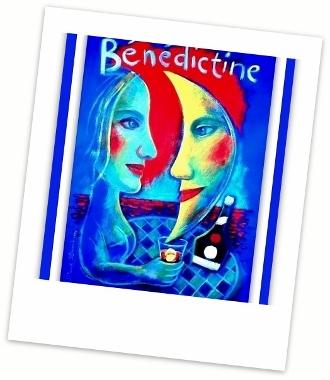 Poster - Spumarche - Bénédictine® DSpumarche - Mixologia - Bénédictine® Deo Optimo Maximo - Poster