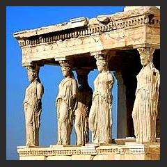 Spumarche - Museum & Co. - ♥  Eretteo  – Acropoli di Atene  (Ἐρέχθειον, Erechtheion) - Grecia - Europa