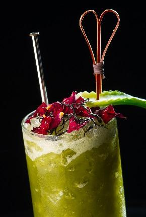Spumarche - Mixologia - Zen Cha - long drink by Salvatore Calabrese - Absolut elyx - vodka