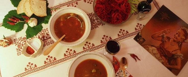 Spumarche - Vino e Dintorni - connubio cibo vino - gulash - gulyás - csárdáskirálynő - hungaricum - paprika