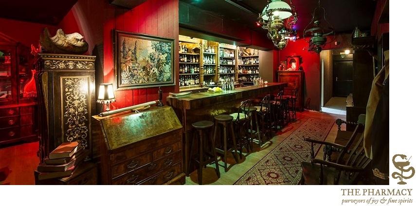 Explorer by Spumarche - The Pharmacy - Knokke - een van de populairste cocktailbars in België