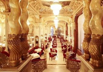 Magnificent interiors → New York Palace - Budapest  - Spumarche.com