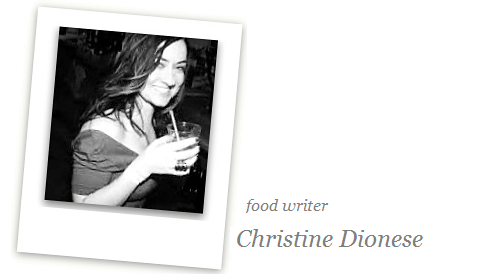 Spumarche - Mixologia - food-writer e alchimista naturale Christine Dionese