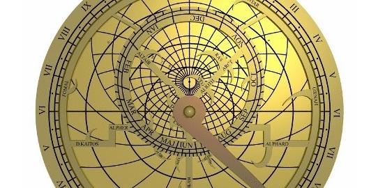 SPUMARCHE - Mappa del Sito - Astrolabio - antico strumento astronomico-nautico,