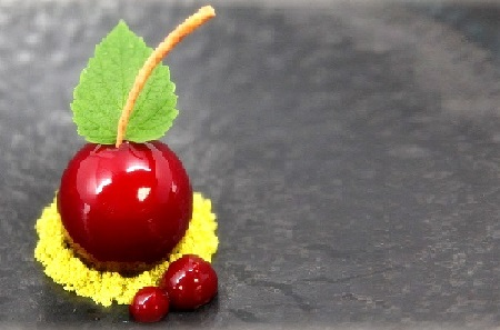 cherry ripe - mini - b&w - juni - nyc