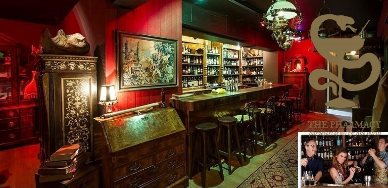 Spumarche - Mixologia - The Pharmacy - Bar - Ongevalle -