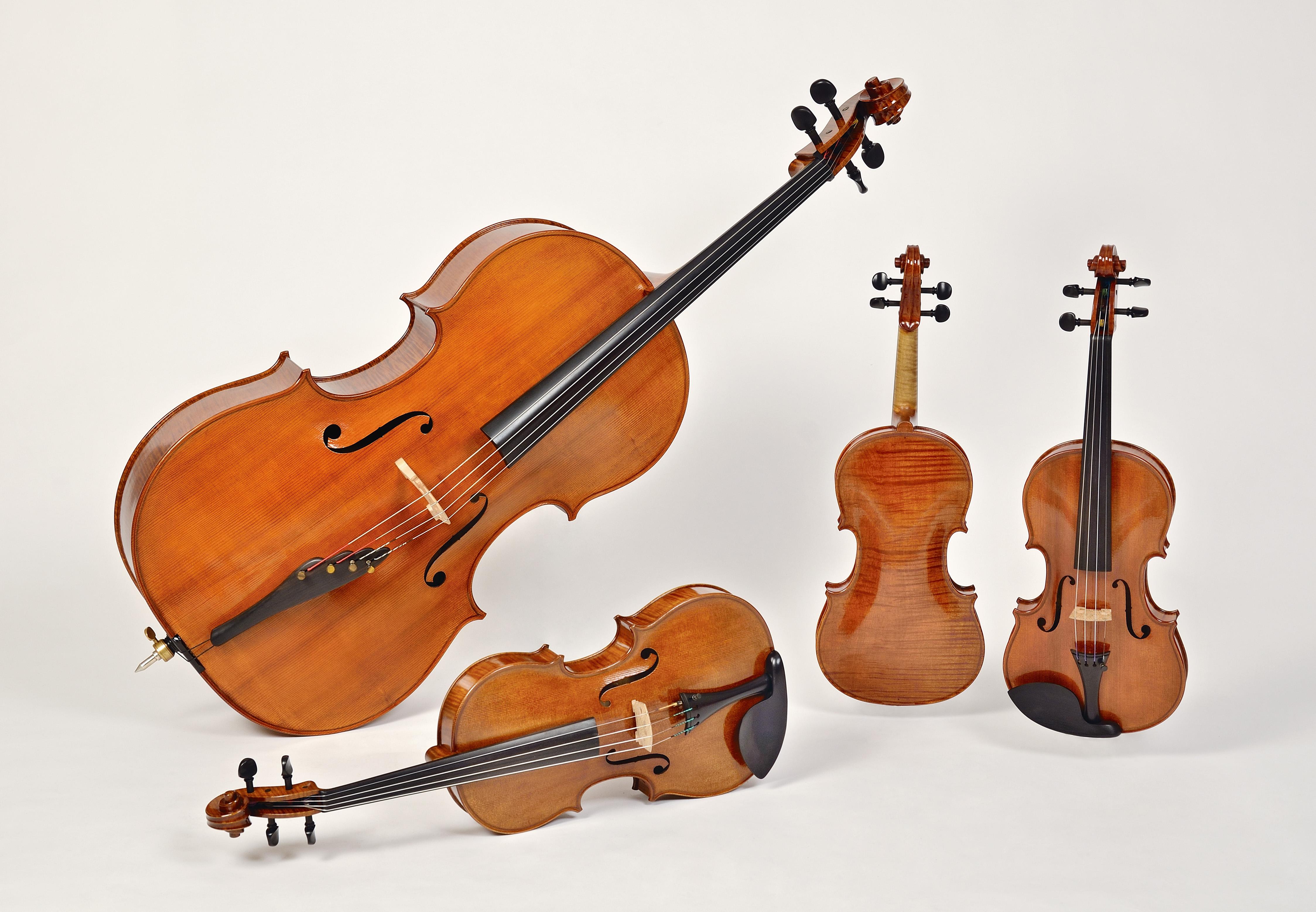 quartetto Gianmaria,liutaio Michele Dobner