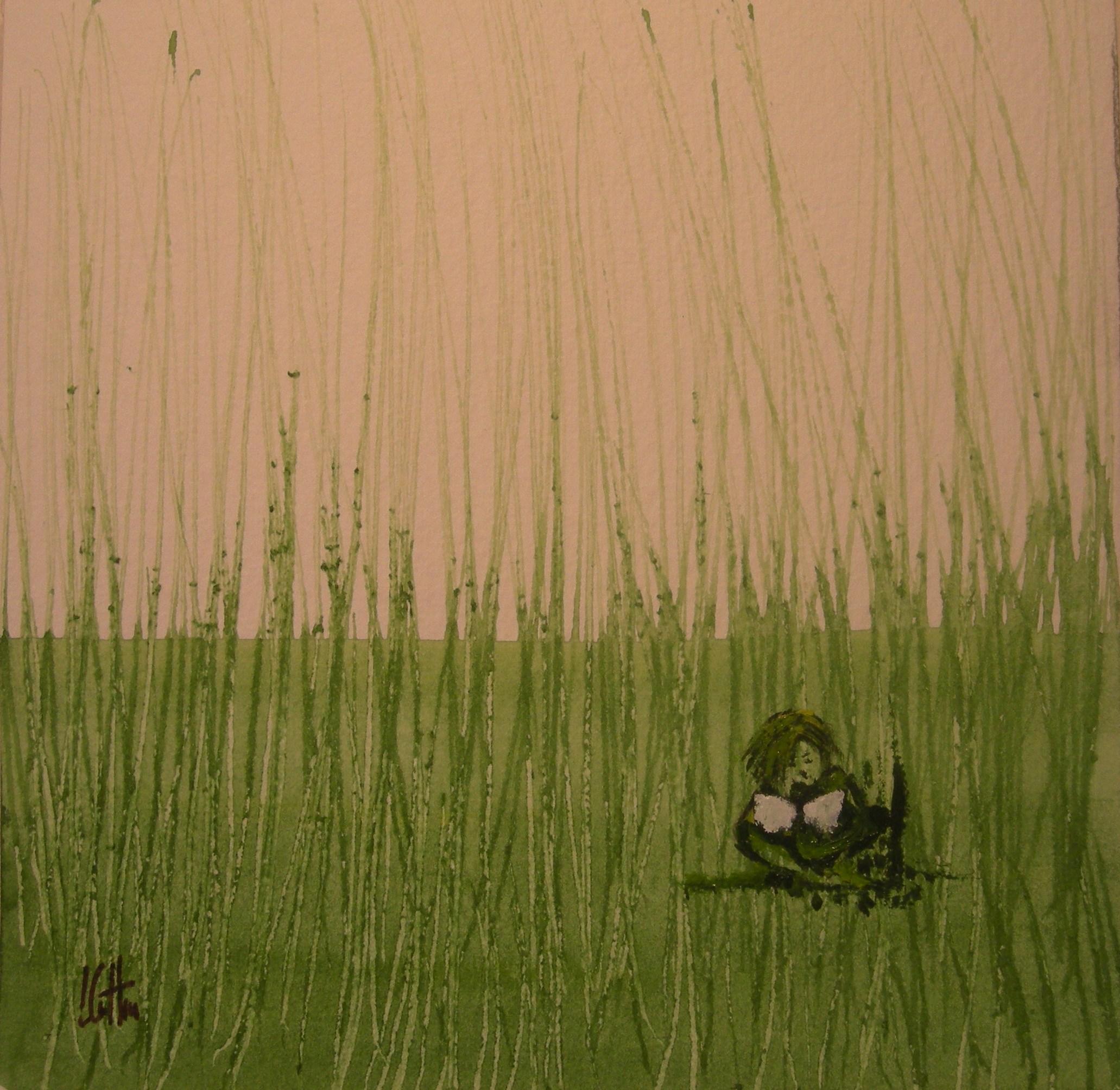 Nel verde. Olio