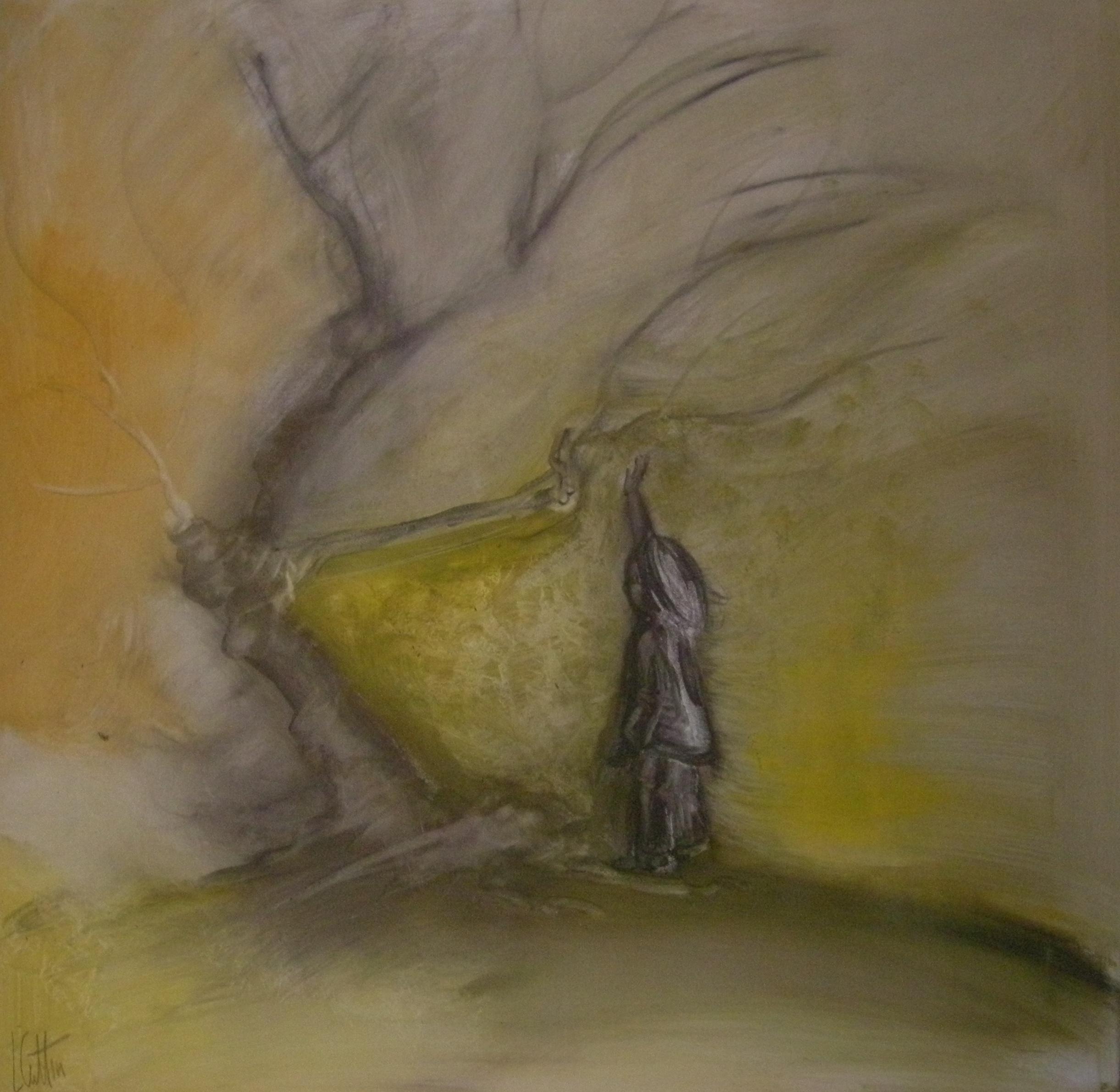Baucetti! olio su tela 30x30 cm - 2011