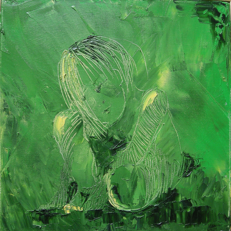 Piccola. Olio su tela 30x30 cm  - 2010