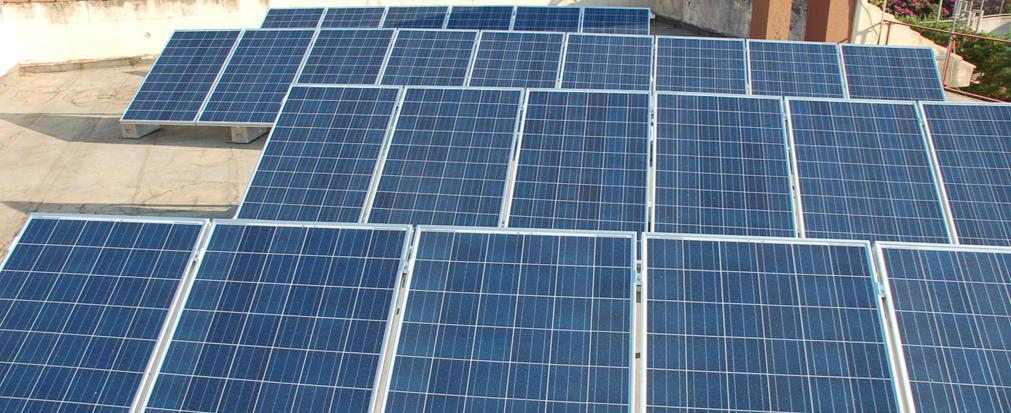 Impianto Fotovoltaico 6 kW su tetto piano