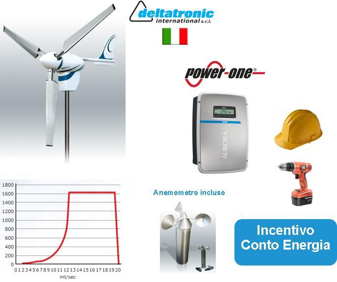 IMPIANTO MICROEOLICO 1,5 kW