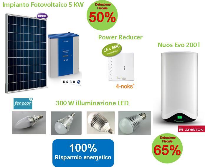 sistema integrato risparmio energetico