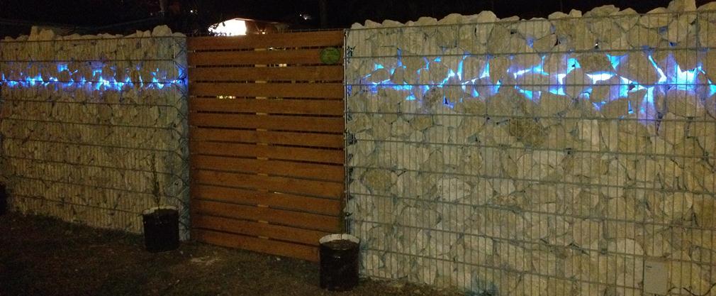 Muro gabbione