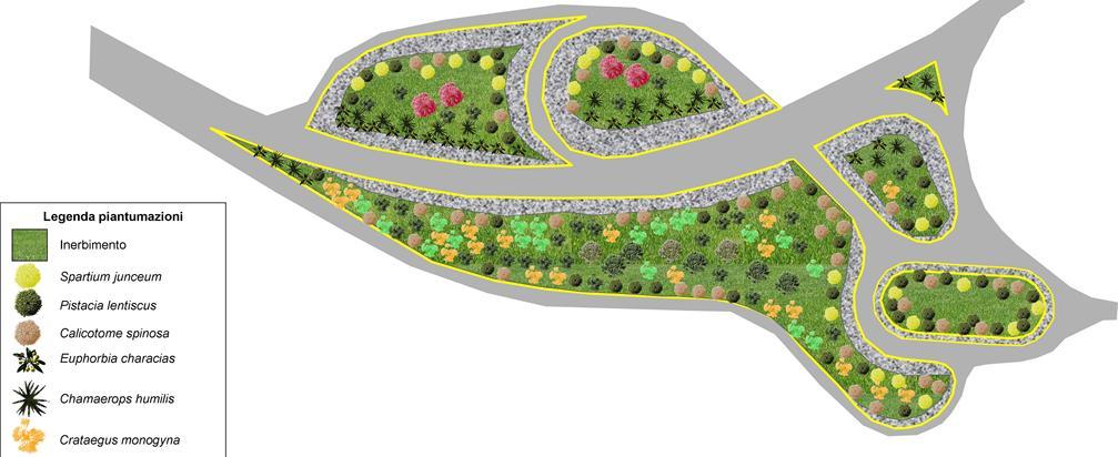 progettazione verde Svincolo autostradale